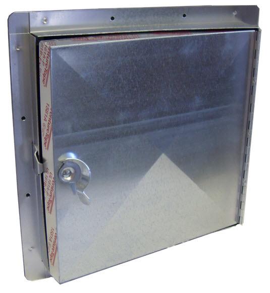 Access Doors Product : Flanged hinged access door model had lloyd industries