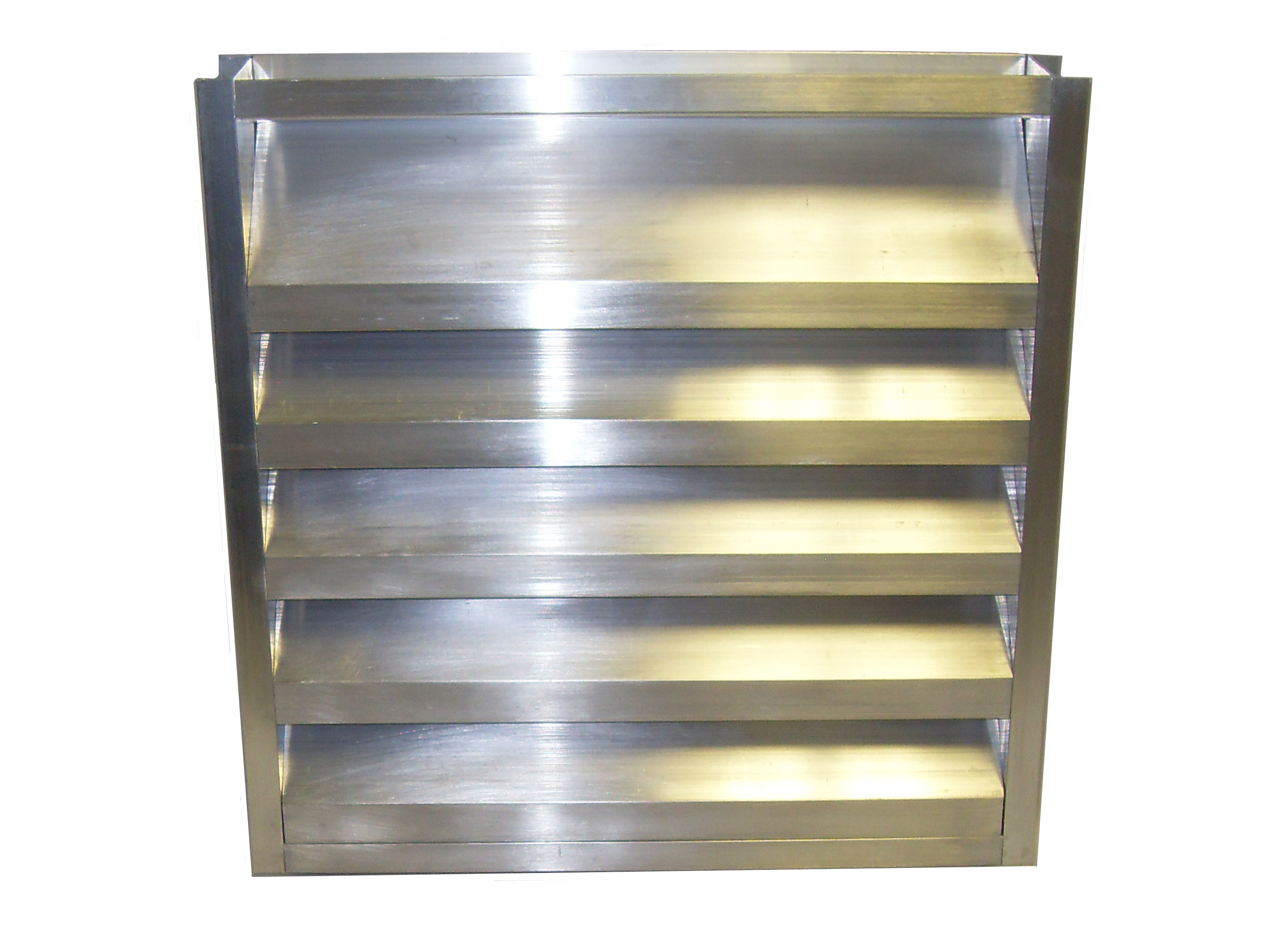 2 Inch Channel Frame Louver Model 2 Srcf Lloyd Industries