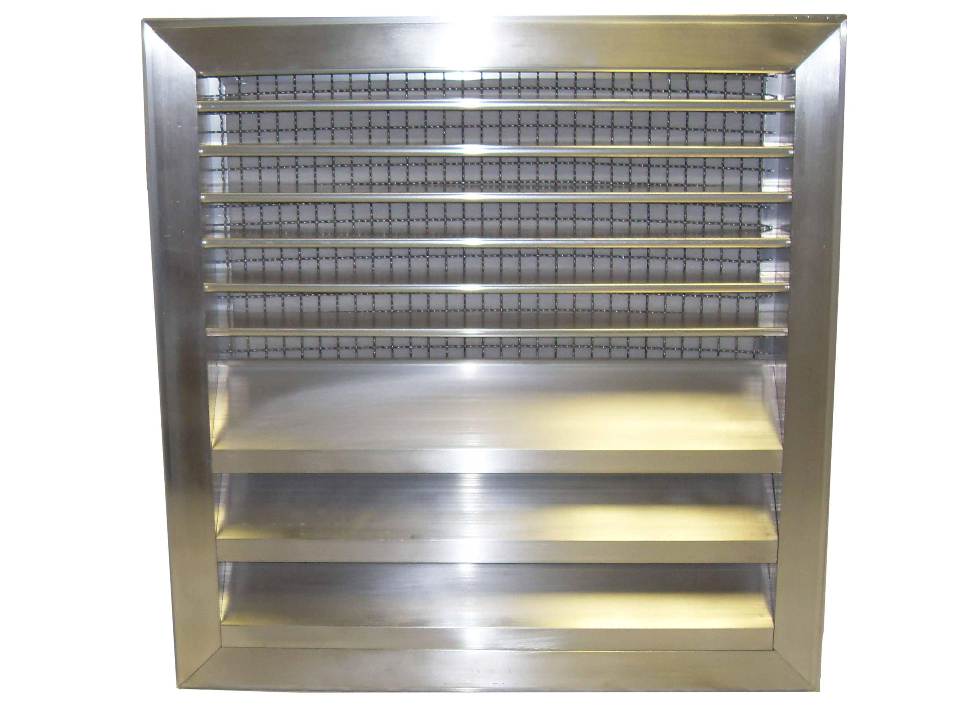Combo 2 Flanged Frame Louver Fire Damper Lloyd Industries