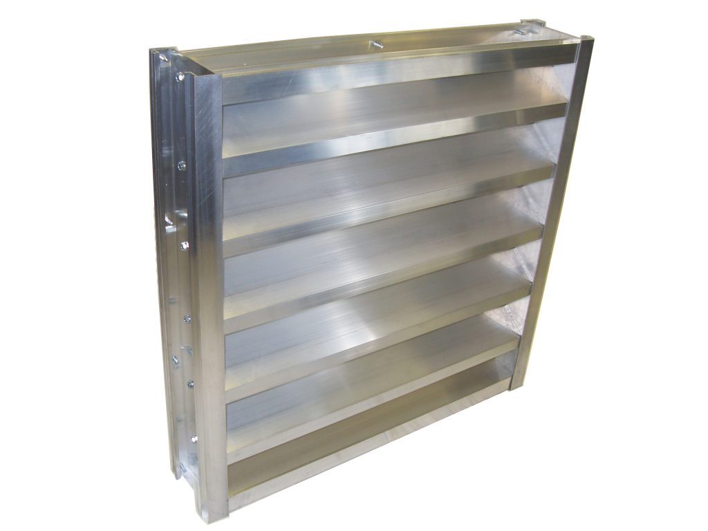 4 Inch Channel Frame Louver Model 4 Srcf Lloyd Industries