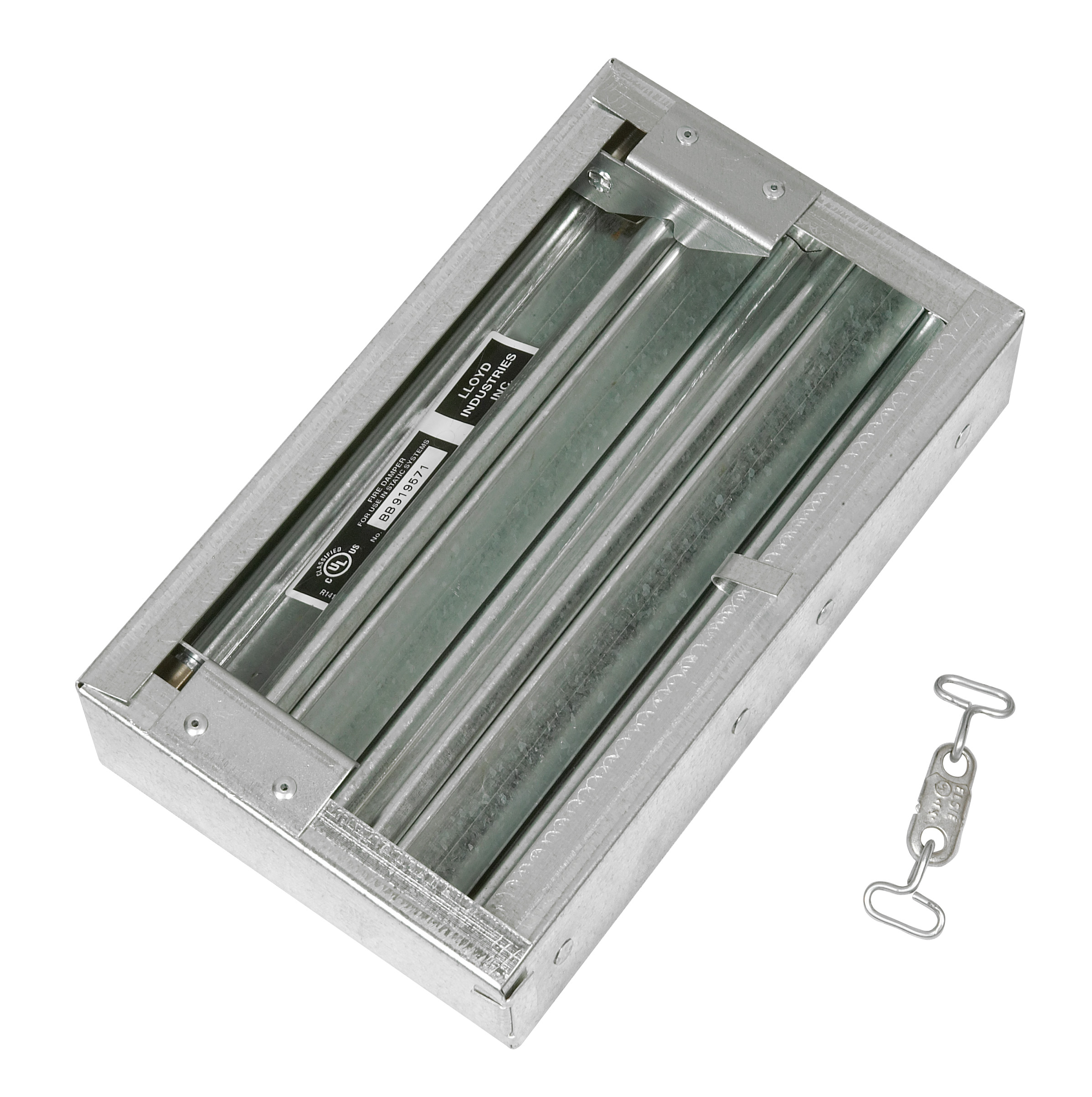 Roof Smoke Damper Hour Dynamic Thin Fire Damper 75d Dy