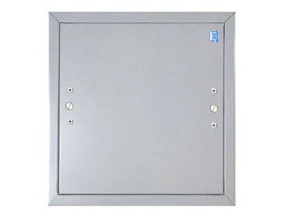 Aluminum Flush Panel Doors : Flush hingeless access door model cad lloyd industrie