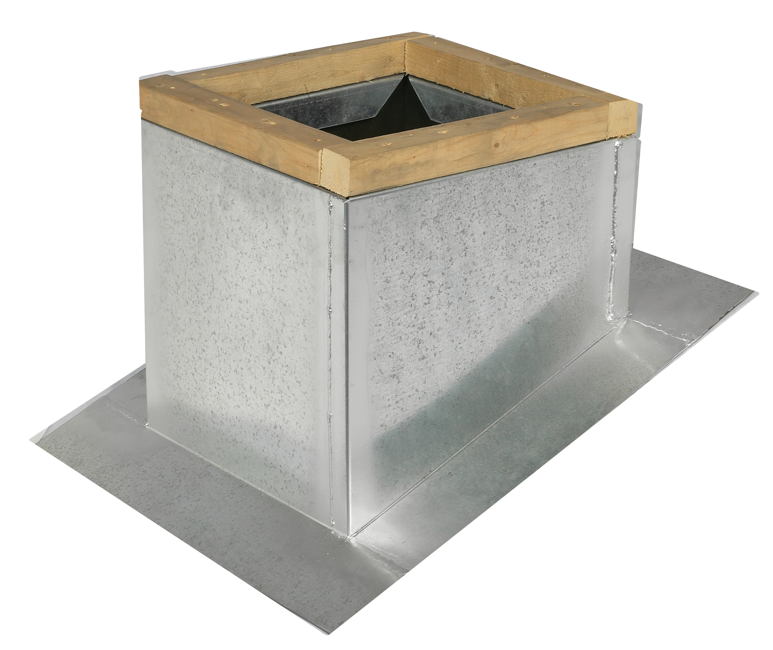 Steel Self Flashing Pitched Roof Curb Ls Sfp Lloyd