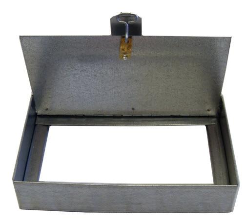 Single Blade 6 Inch Ceiling Radiation Damper Lloyd
