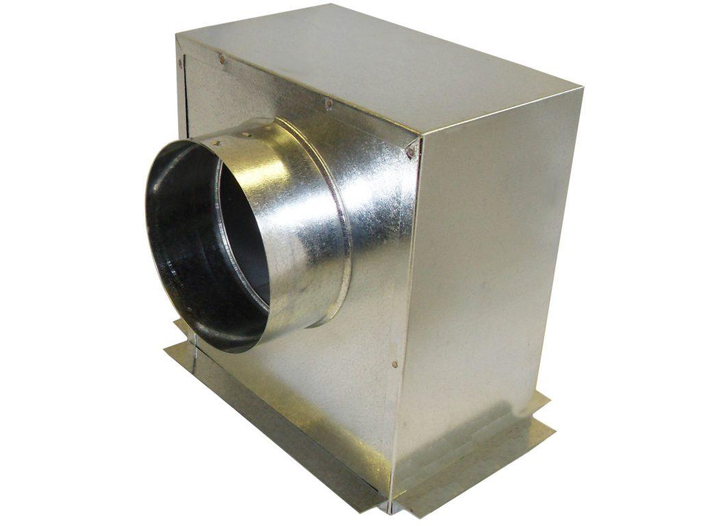 1 Hour Ceiling Radiation Damper W Radiation Box Lloyd