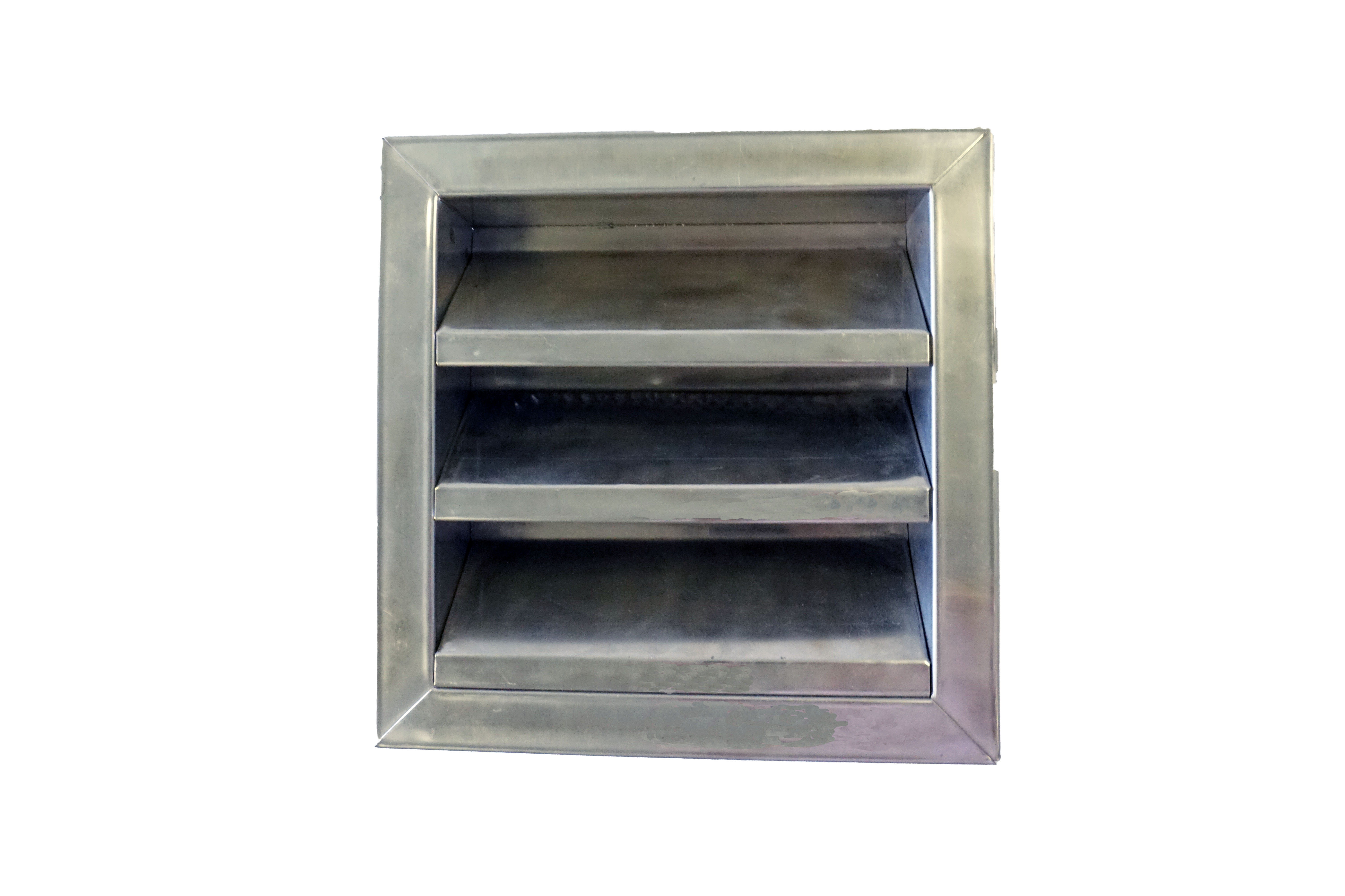 2 Inch Flanged Frame Fire Rated Door Louver Lloyd Industries