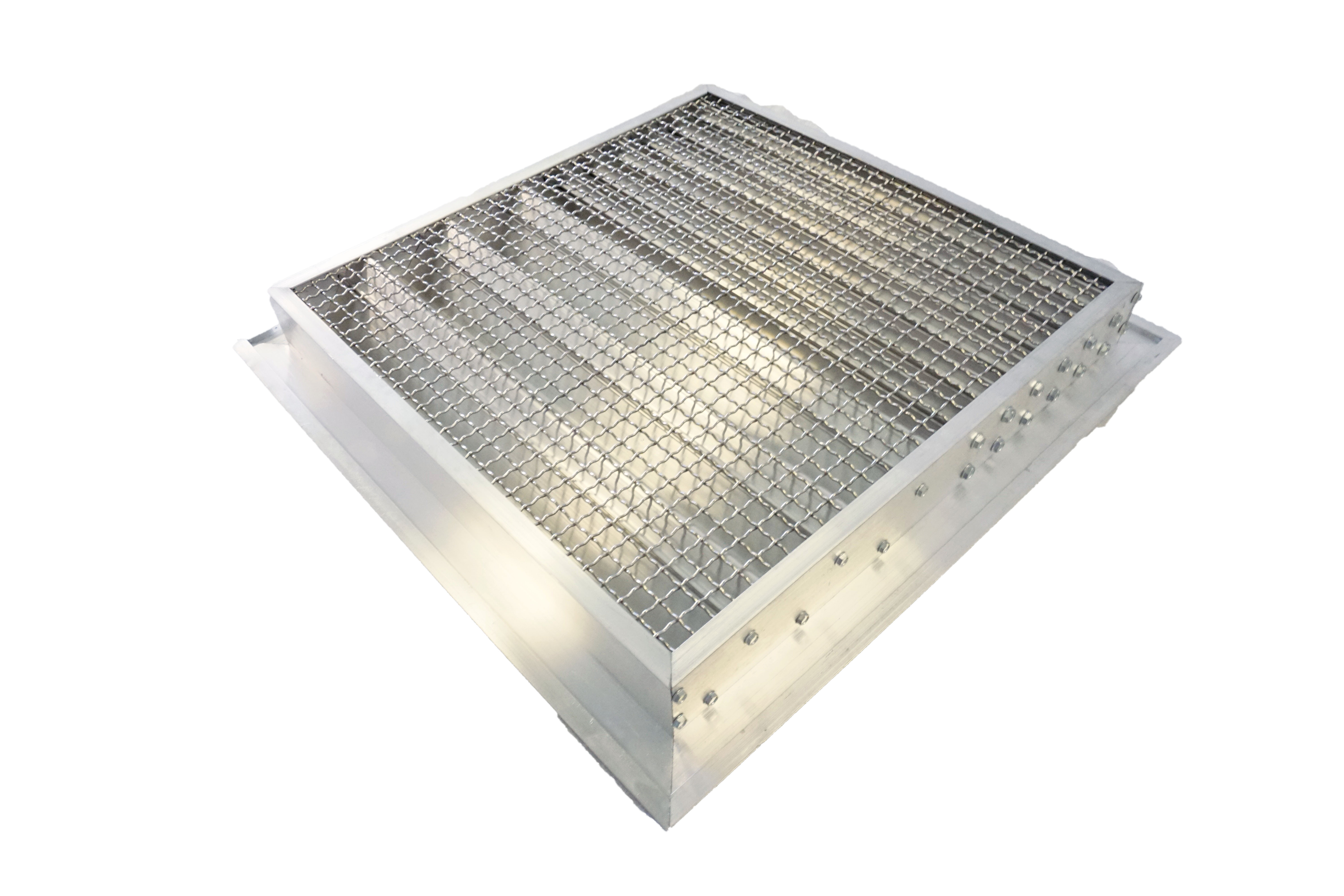 Fire Rated Door Louvers 2 Inch Flanged Frame Lloyd