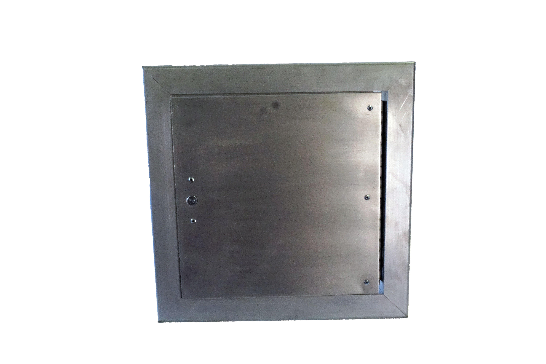 Aluminum Flush Panel Doors : Flush hinged access door model had lloyd industries