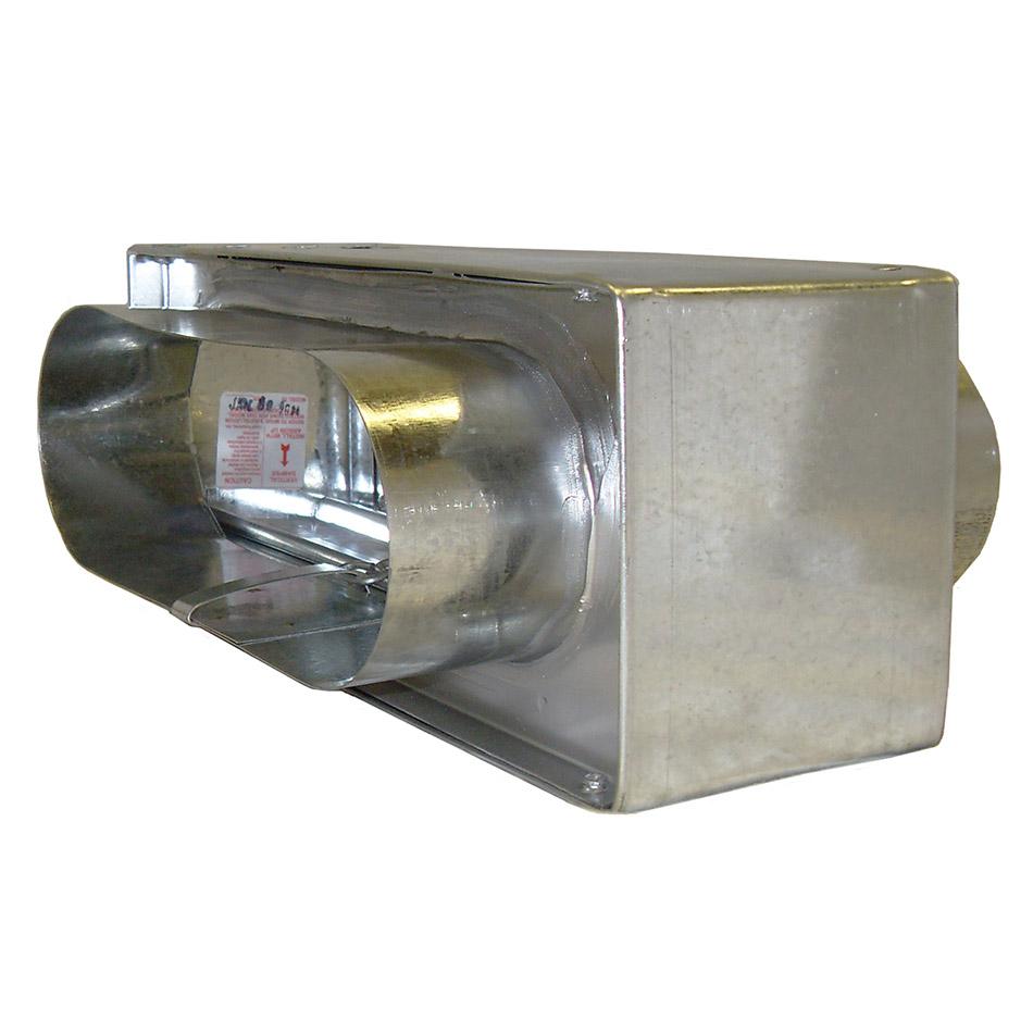 1 1 2 Hour Dynamic Oval Fire Damper Model 75co Dy Lloyd
