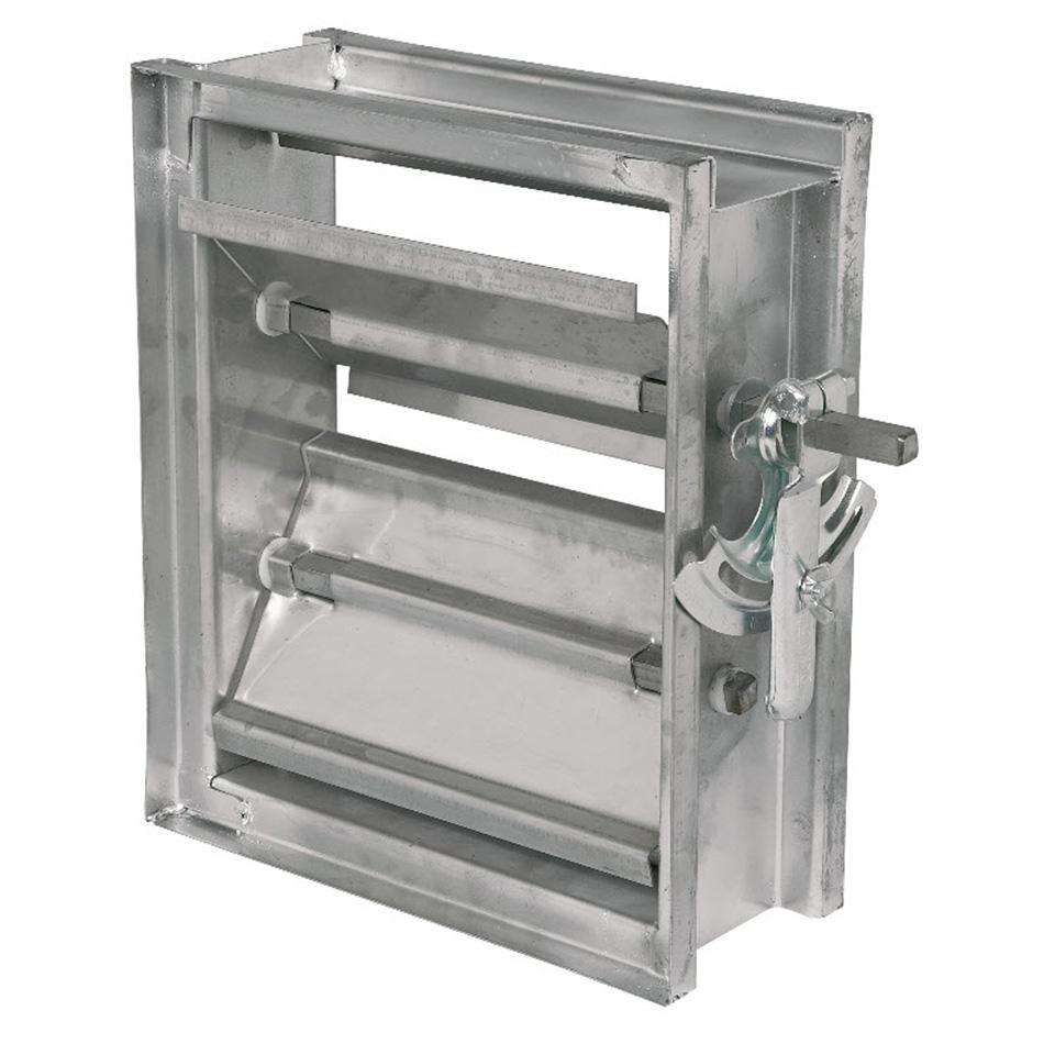 Volume Control Damper : Opposed blade air control damper model ac lloyd