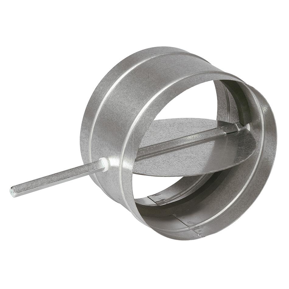 Spiral duct back draft round damper ac brd lloyd