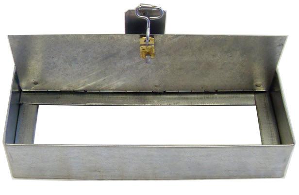 Single Blade 4 Inch Ceiling Radiation Damper Lloyd