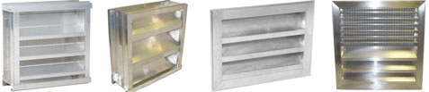 Aluminum Louver Collection